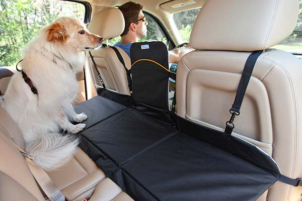 kurgo backseat dog bridge car seat extender kurgo backseat barrier with seat extender for dogs. Black Bedroom Furniture Sets. Home Design Ideas