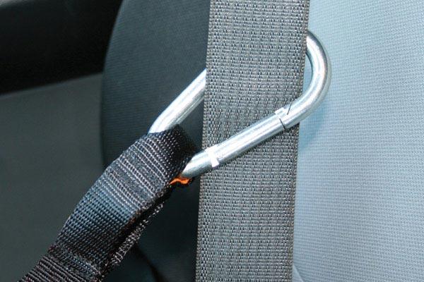 kurgo auto zip line seat belt attachment
