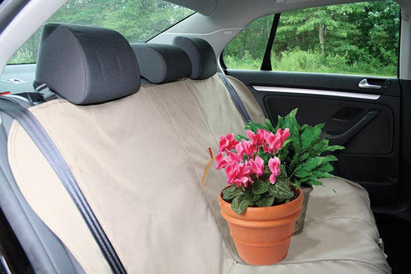 kurgo bench seat cover flower