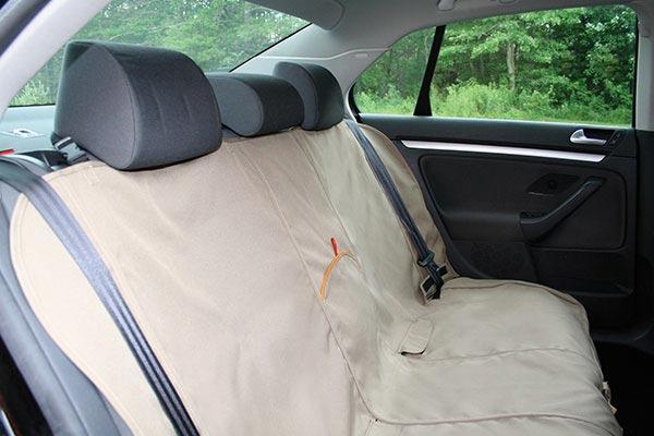 kurgo bench seat cover open