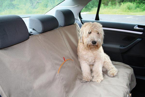 kurgo extended bench seat cover dog sit