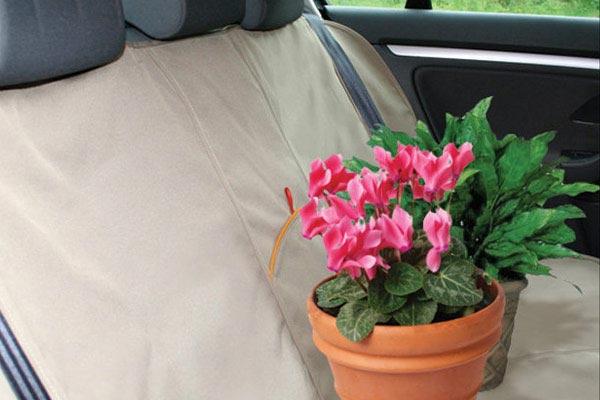 kurgo extended bench seat cover garden plants