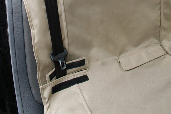 kurgo extended bench seat cover seatbelt compatible