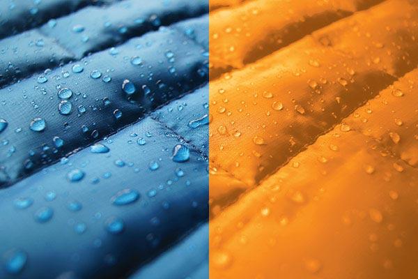 kurgo loft bench seat cover fabric detail blue orange