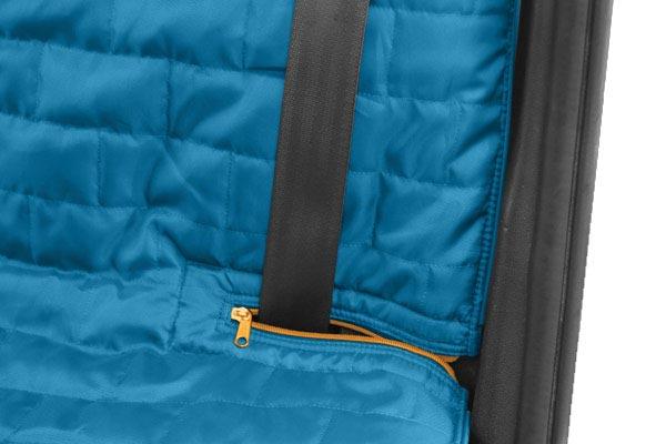 kurgo loft bench seat cover seat belt notch