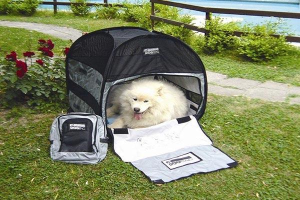 motor trend dog bag pet tent complete