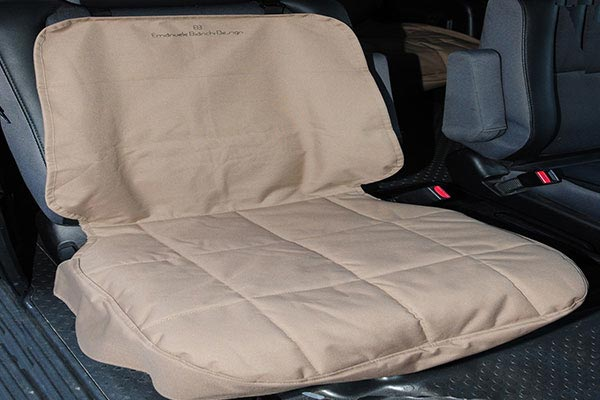 motor trend seat protector tan