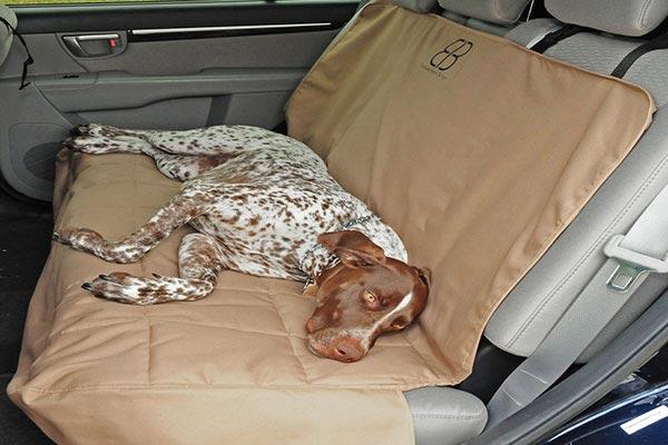 motor trend seat protector tan rear