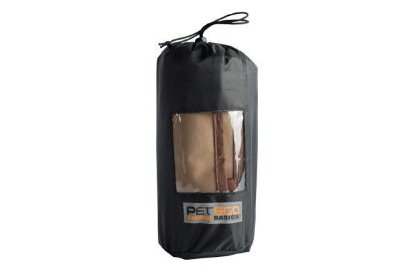 petego animal basics velvet seat cover bag