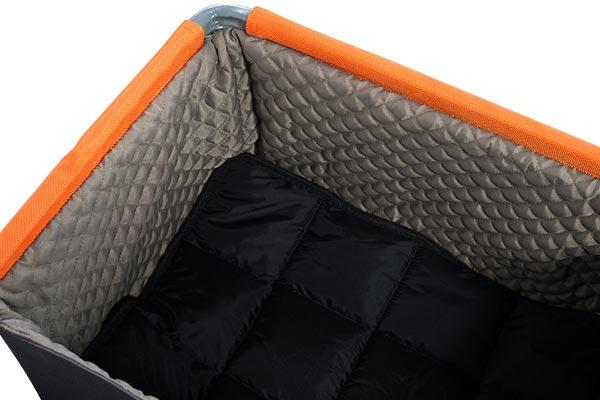 petego k9 lift pet booster seat inside liner