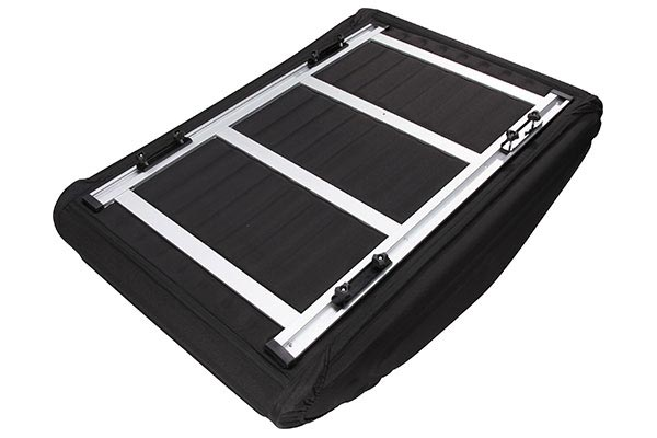 3dmaxpider roof bag blk w rack bottom