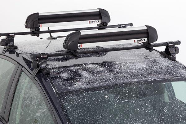 INNO grab max ski snowboard rack installed aa