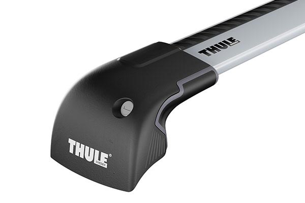 Thule 7601 7602 7603 AeroBlade Edge three quarter angle close up