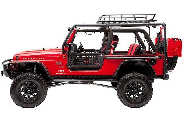 body armor cargo basket jeep profile