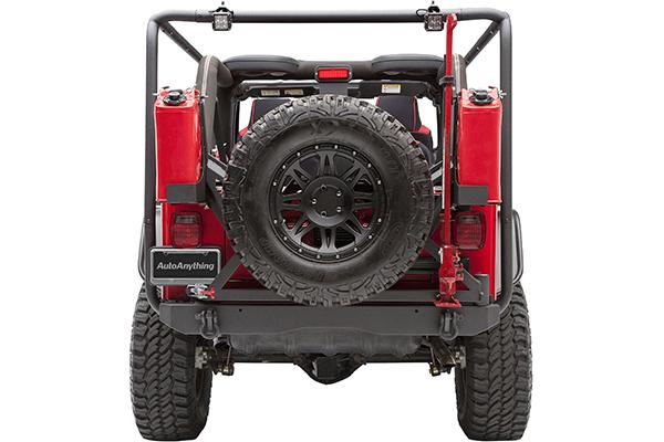 body armor cargo rack system jeep rear