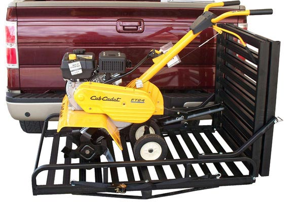 great day hitch n ride rampup cargo carrier closed