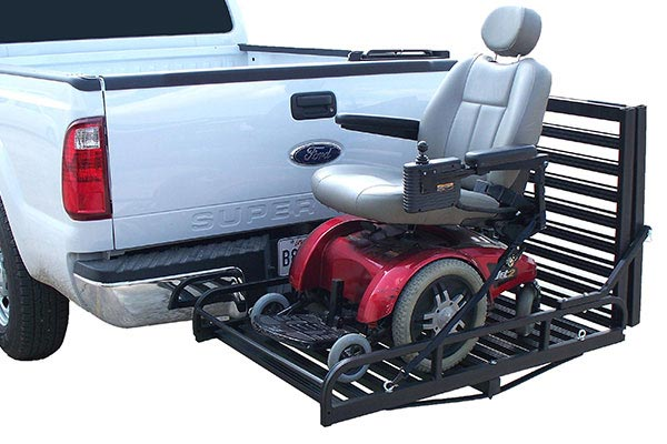 great day hitch n ride rampup cargo carrier mobility scooter