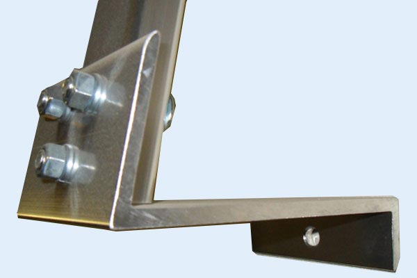 hauler racks cap rack mount closeup