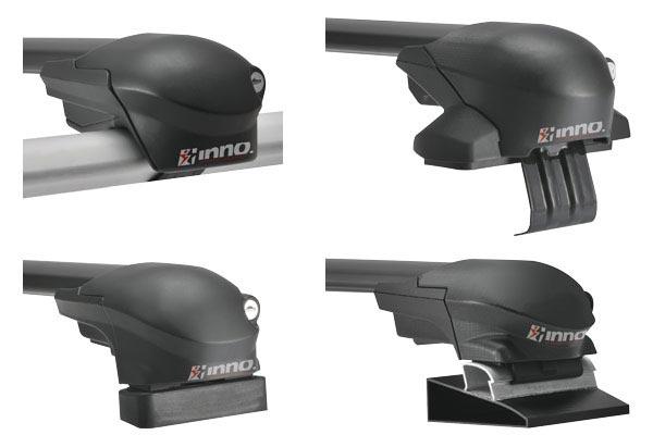 inno aero base rack system mounting styles