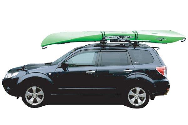 inno canoe kayak lifter installed