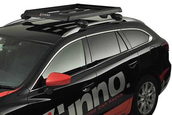 inno t slot shaper 80 cargo rack for aero base installed