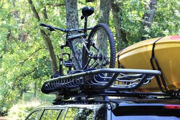 kuat skinny cargo basket with bike