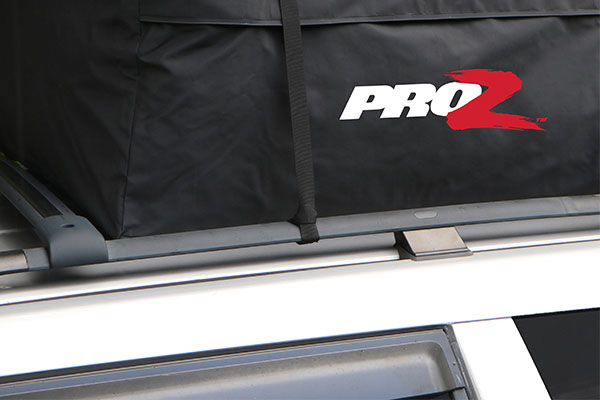proz premium car top carrier installed