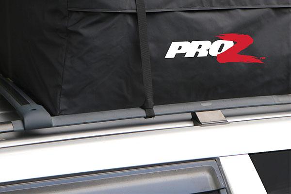 proz premium car top carrier installed