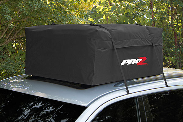 proz premium car top carrier overhead view1