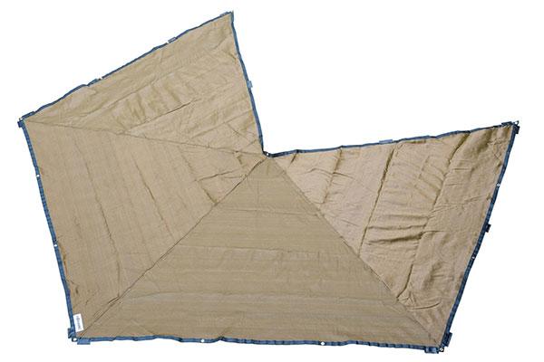 rhino rack foxwing awning mesh floor saver open