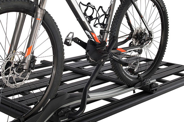 rhino rack pioneer accessory bar bike