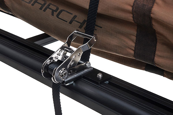rhino rack pioneer ratchet grab strap kit latch
