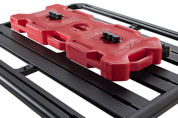 rhino rack pioneer rotopax fit kit installed