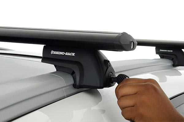 rhino rack aero bar roof rack lock