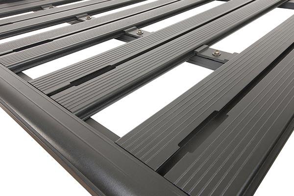 rhino rack backbone pioneer platform roof rack channel detail