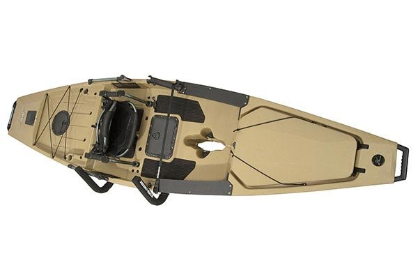 rhino rack cargo box and kayak wall hangers kayak loaded