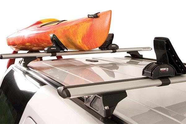 rhino rack explorer kayak and canoe carrier rear loading