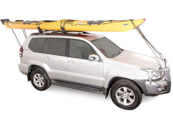 rhino rack kayak and canoe carrier full shot