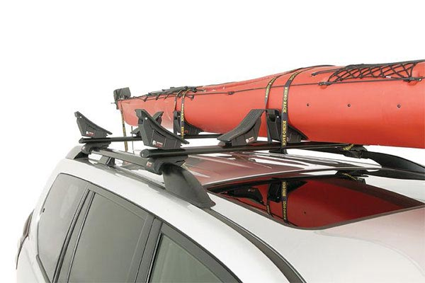 rhino rack kayak and canoe carrier solo shot