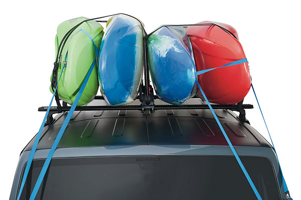rhino rack nautic stack kayak carrier installed