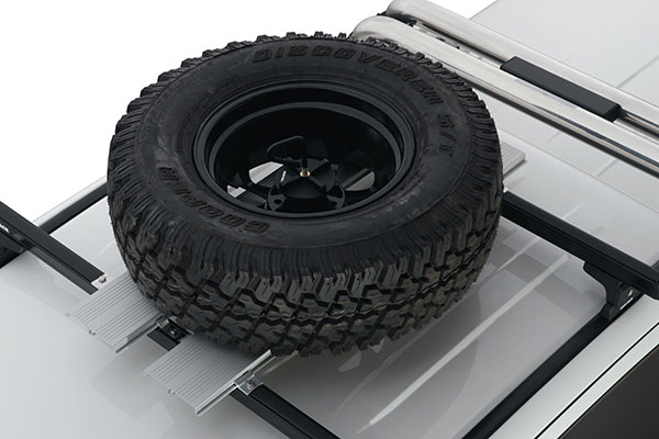 rhino rack platform spare tire carrier with wheel