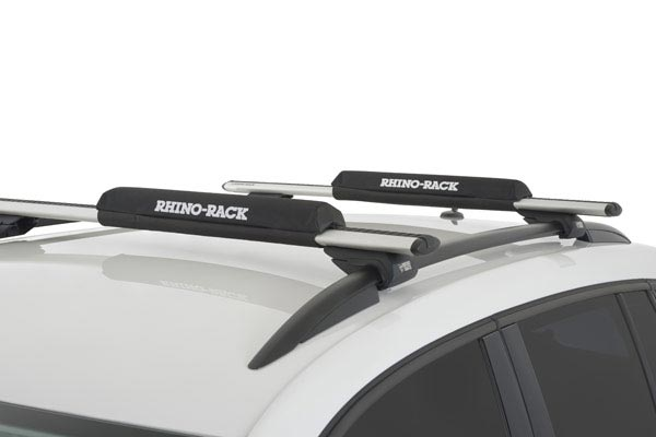 rhino rack roof rack foam wrap pads roof rack installed