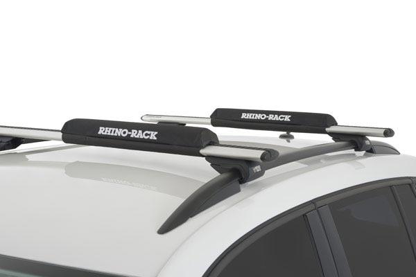 rhino rack roof rack foam wrap pads roof rack installed