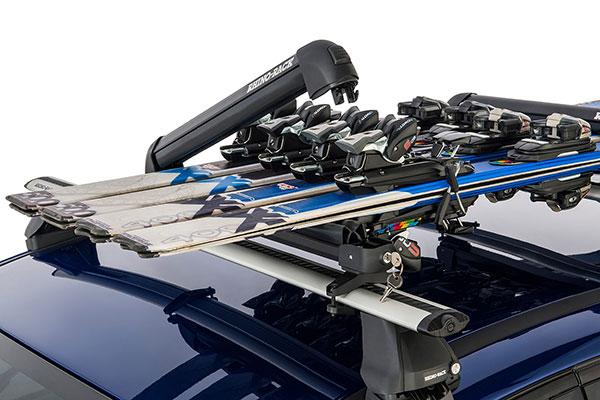 rhino rack ski snowboard rack 2