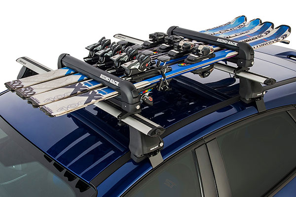 Ski Rack For Car >> Rhino Rack 574 Rhino Rack Ski Snowboard Rack Free Shipping