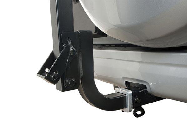 rhino rack t loader hitch mount kayak receiver
