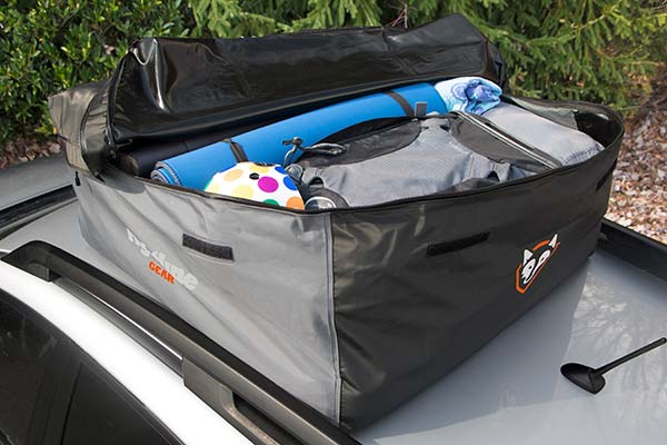 Rightline Gear Sport Car Top Carrier Cargo Installed