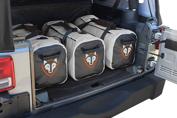 rightline gear auto duffle bag trunk