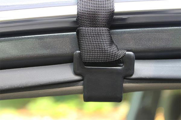 rightline gear car clips installed close up