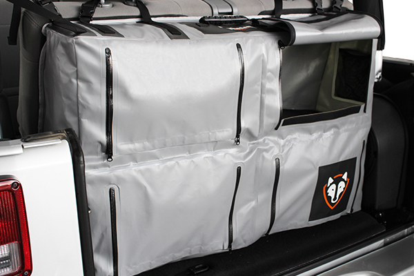 rightline gear storage bags truck storage bag compartment open